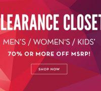 70% Off – Tommy Hilfiger , Calvin Klein , LAUREN Ralph Lauren