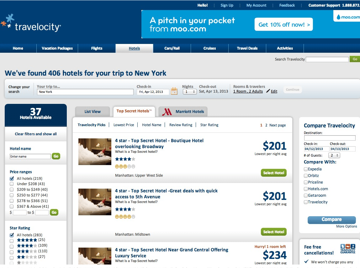 Discount Hotel Rooms Travelocity Tripadvisor