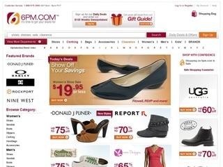 6PM.com Shoe Sale