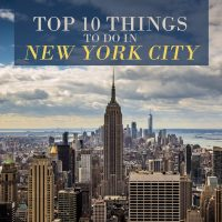 10 Things to Do in New York City & Three Things Not To
