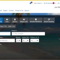 how to book a flight on expedia