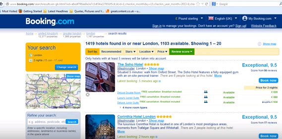 How to book a good cheap hotel online
