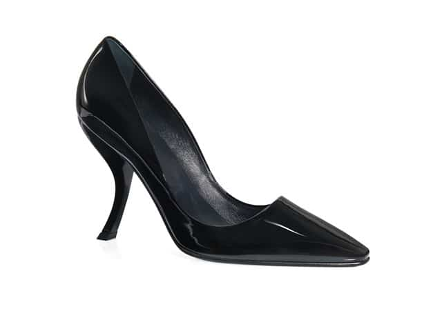 ROGER VIVIER Virgule Pumps In Patent Leather