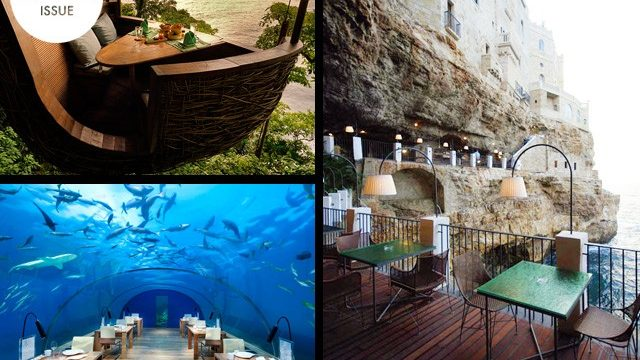 Restaurants Around The World Reach New Heights & Depths