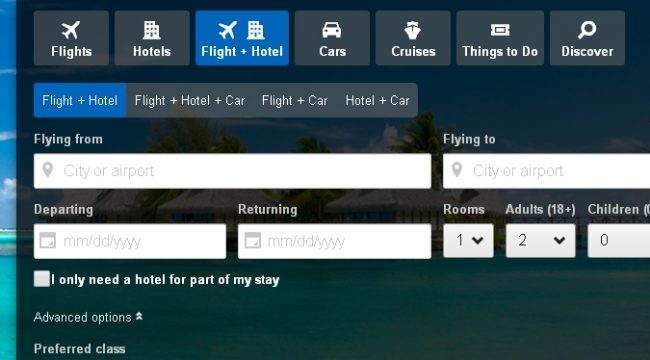 How to use a Travelocity promotional code