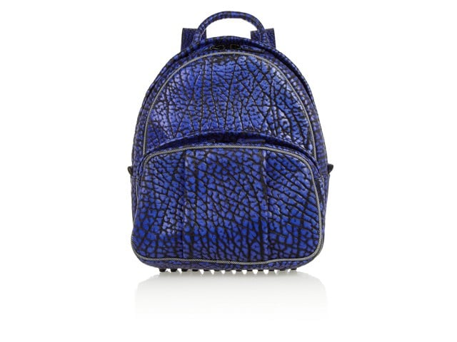 ALEXANDER WANG Dumbo Textured Leather Backpack