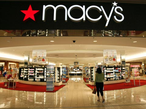 Shopping experience at Macy's