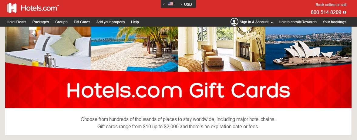 hotels.com Rewards