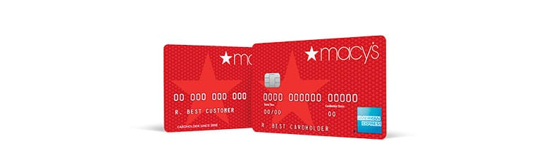 The Macy's credit card