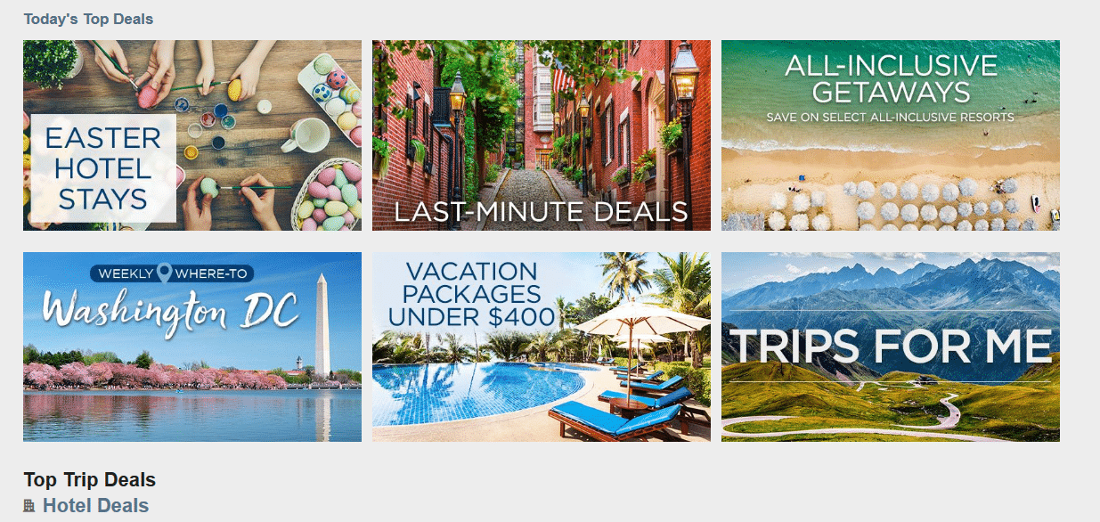 save at Travelocity