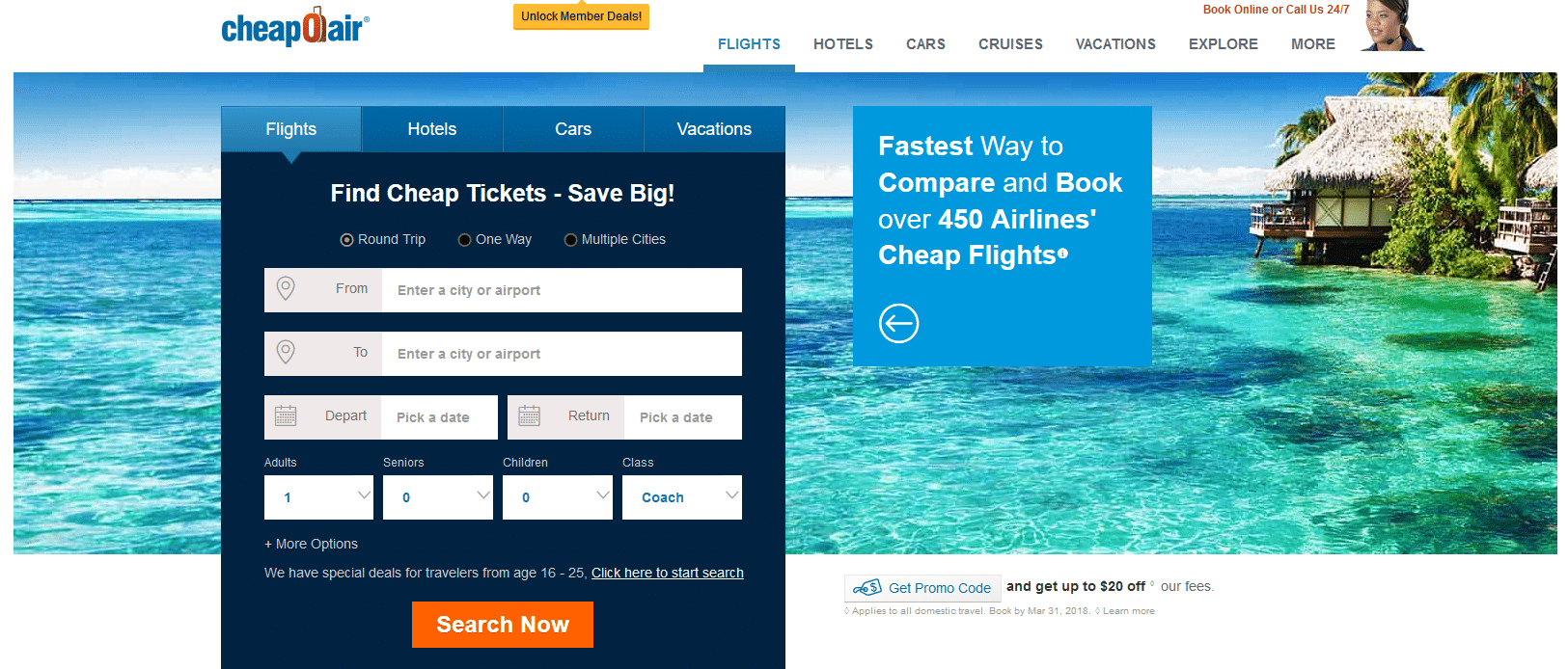 Cheap Airline Tickets, Hotels Car Rentals CheapOair