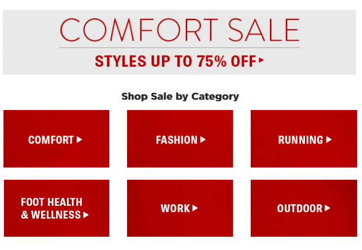 75% off Shoes.com shoes