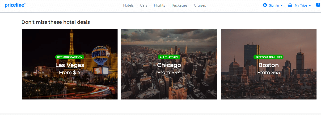 Priceline com The Best Deals on Hotels