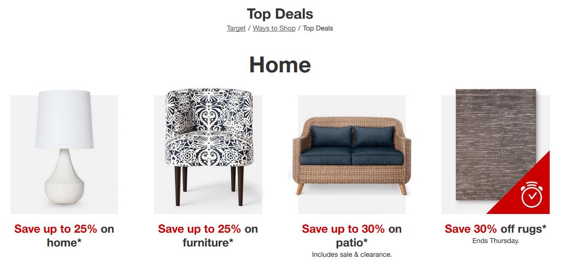 Top Deals Target