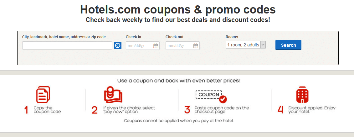 hotels com coupon