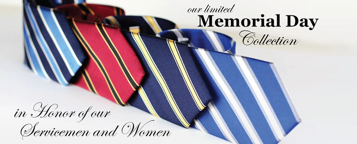 American Regimental Striped Ties