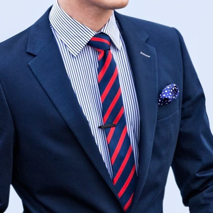 How to Wear Striped Ties