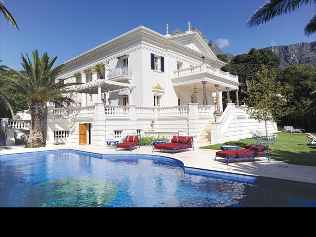 Enigma Mansion in Cape Town