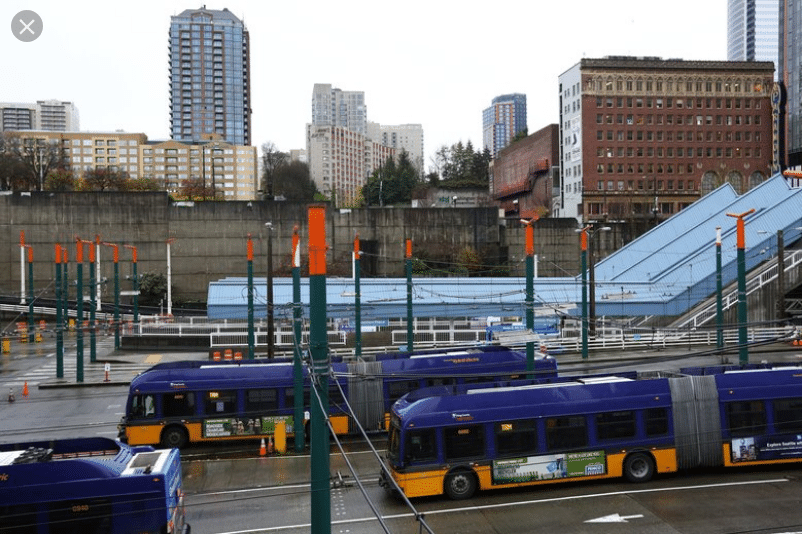 Downtown bus seattle