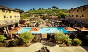 the Meritage Resort in Napa
