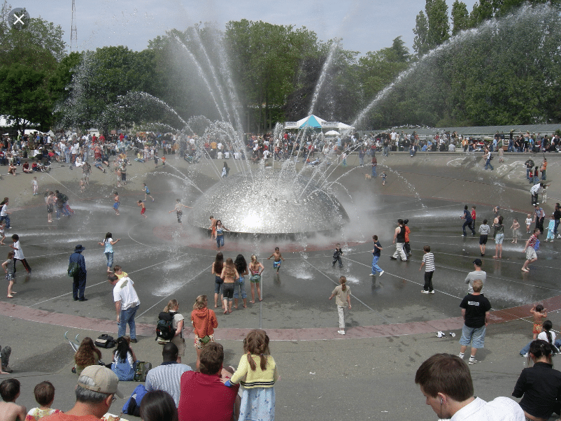 Seattle Center Fountain