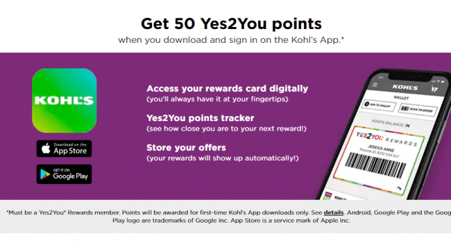 Rewards Programs at Kohl's