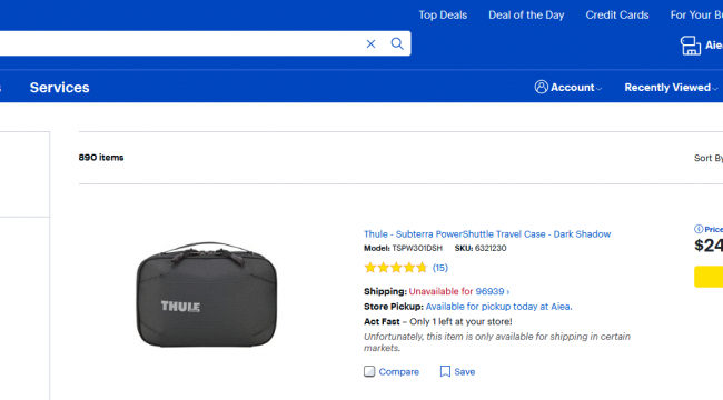 Bestbuy.com for traveler