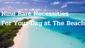 Nine Bare Necessities For Your Day at The Beach
