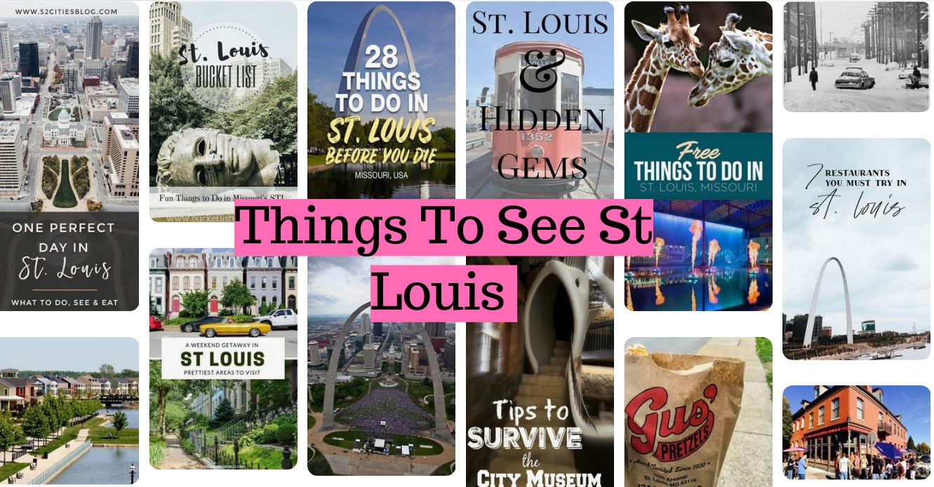 Things To See St Louis