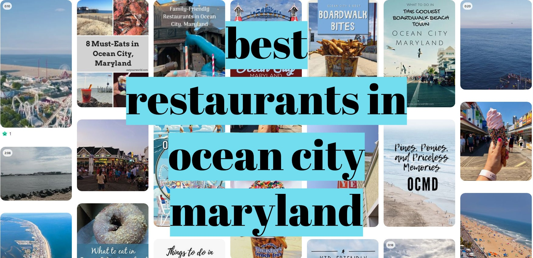 best restaurants in ocean city maryland
