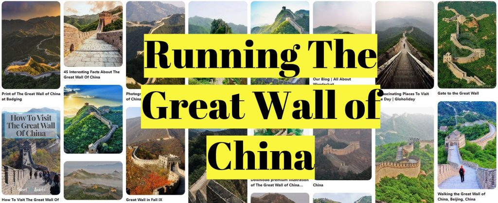 Running The Great Wall of China