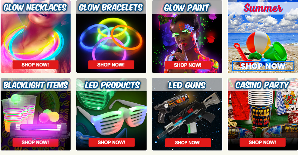 Glow Products, Light-Up