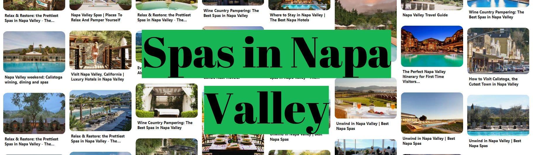 Spas in Napa Valley