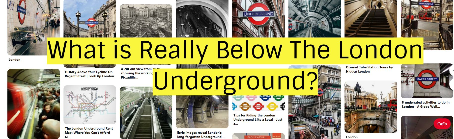 What is Really Below The London Underground?