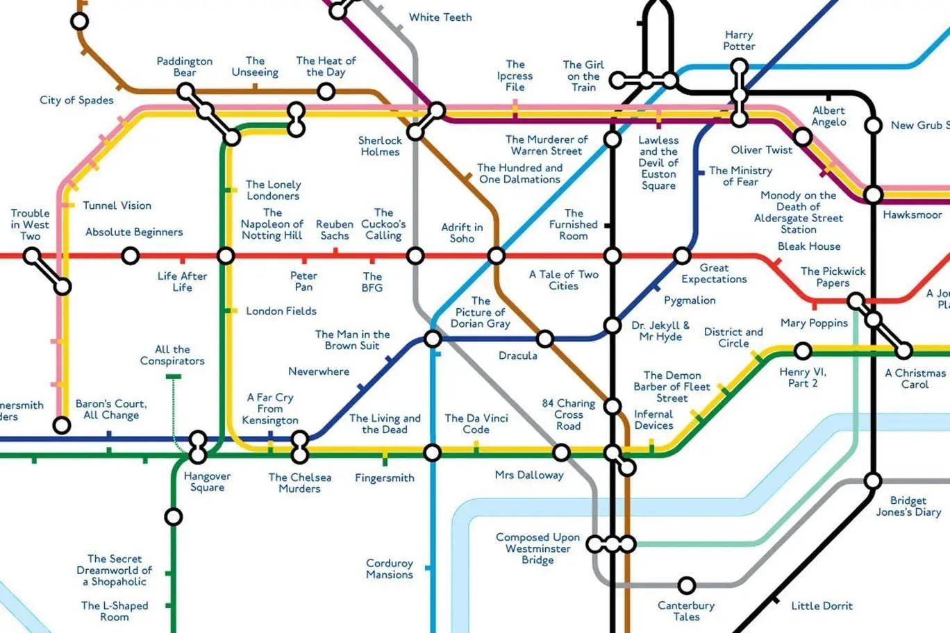 london-underground map