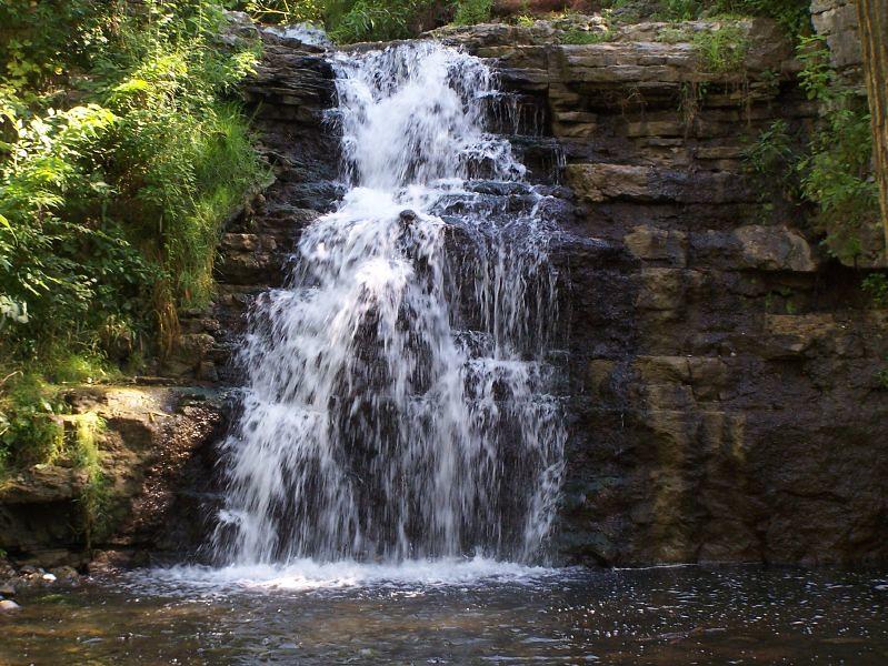 France Park Waterfalls