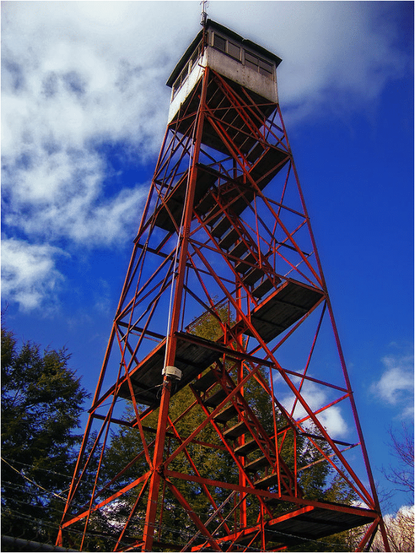 and the Stony Point Fire Tower.