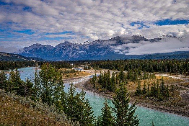 Jasper National Park river