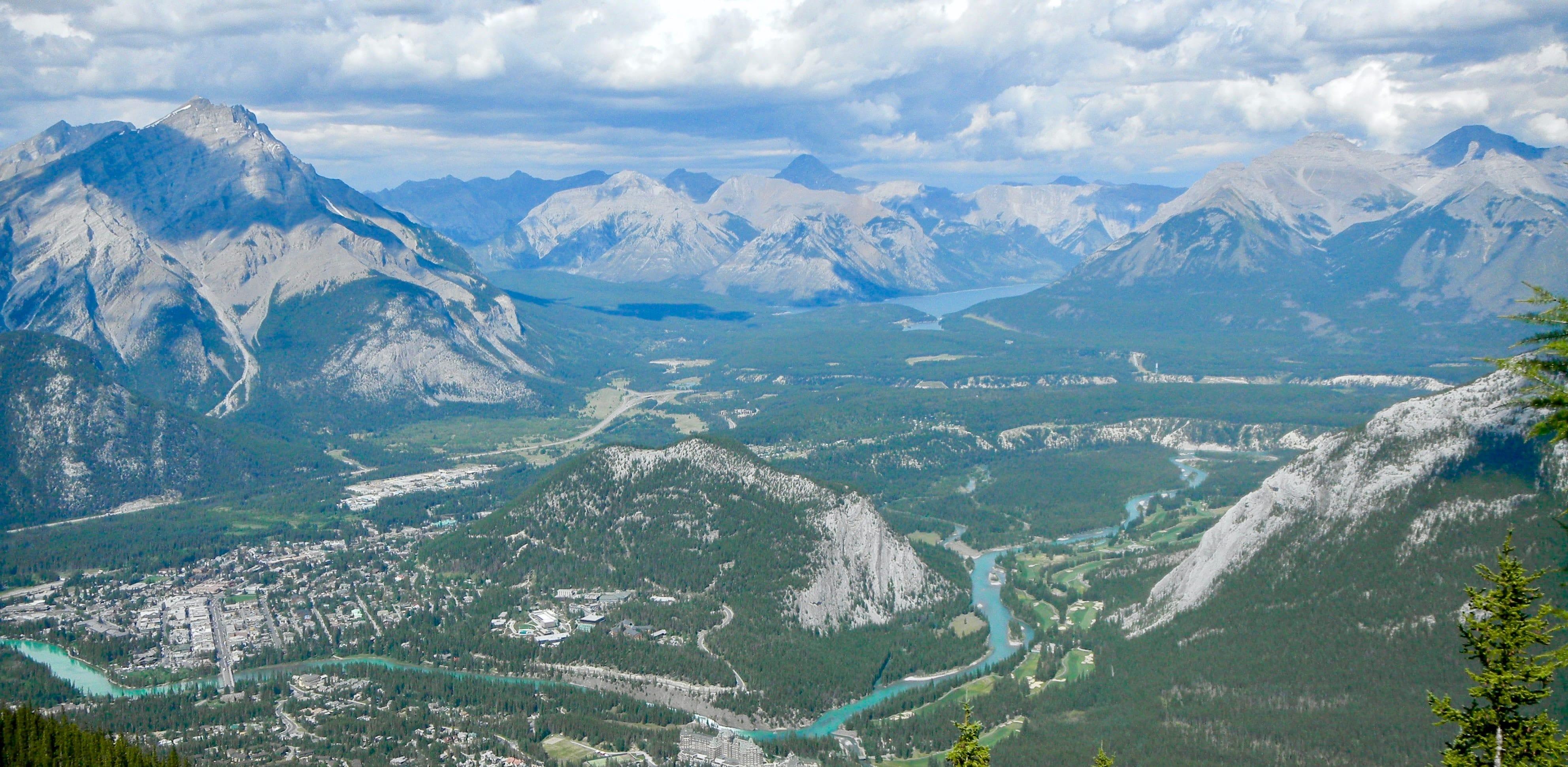 Jasper National Park view