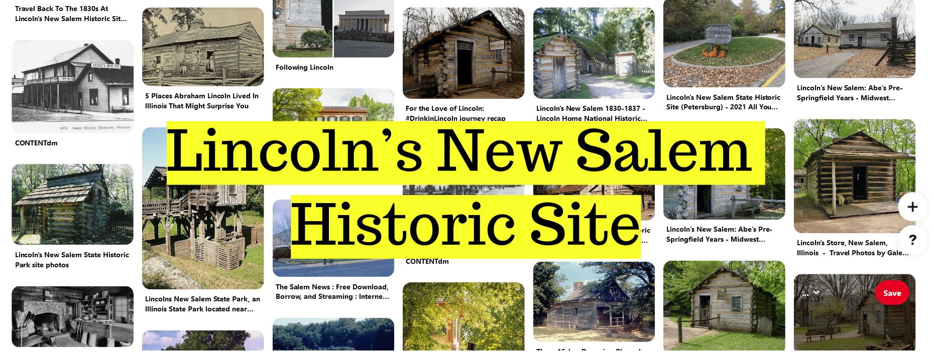 Lincoln's New Salem Historic Site