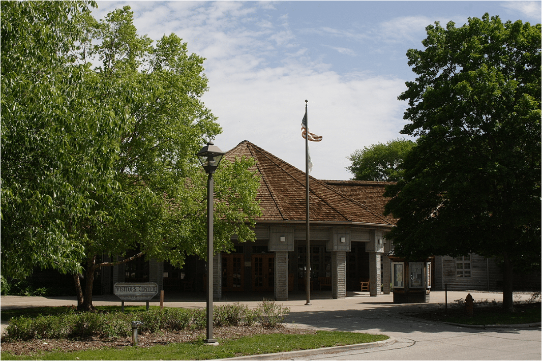 New Salem welcome center