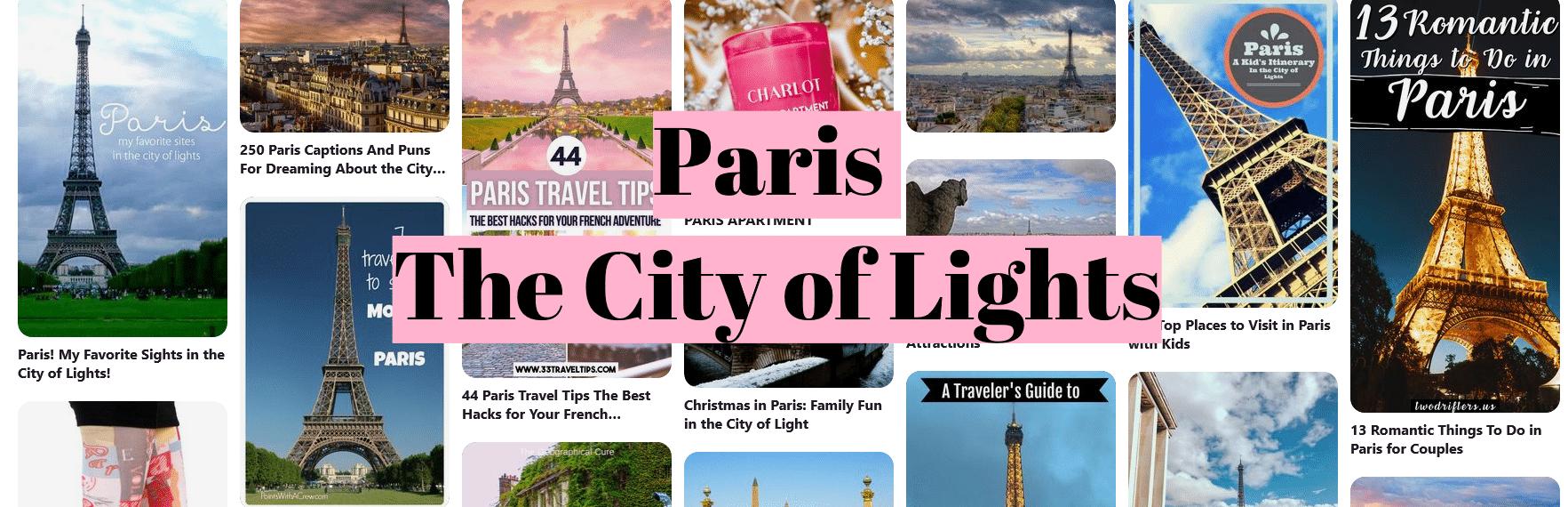 Paris The City of Lights