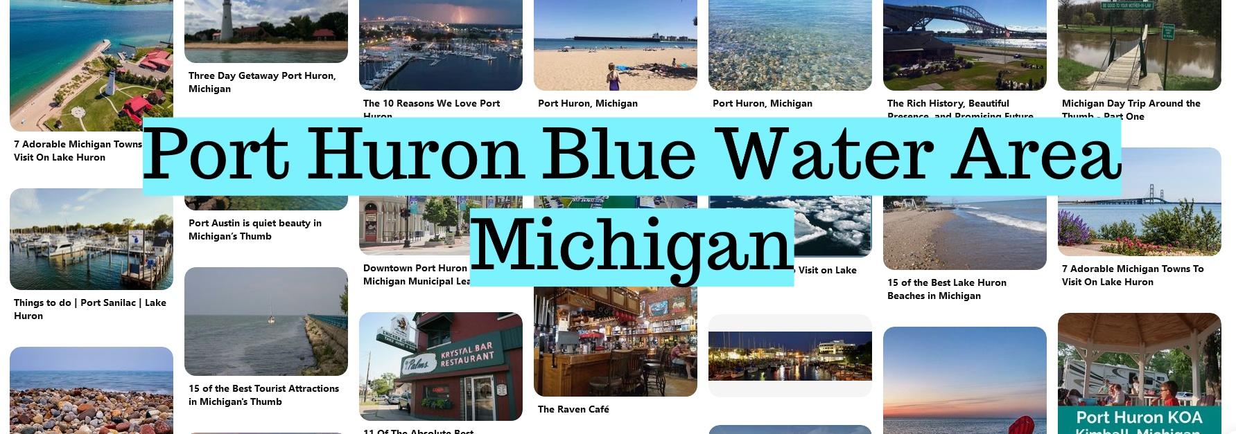 Port Huron Blue Water Area Michigan