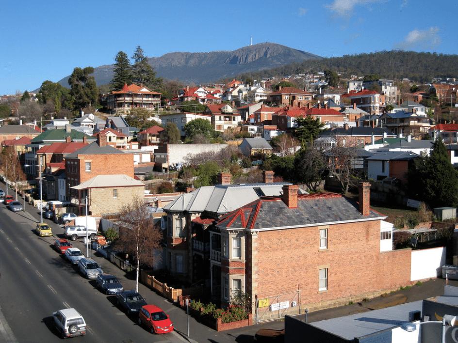Hobart Great City Shot